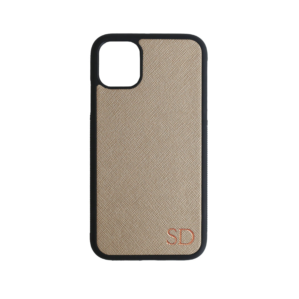 iPhone 11 Case in Metallic Gold