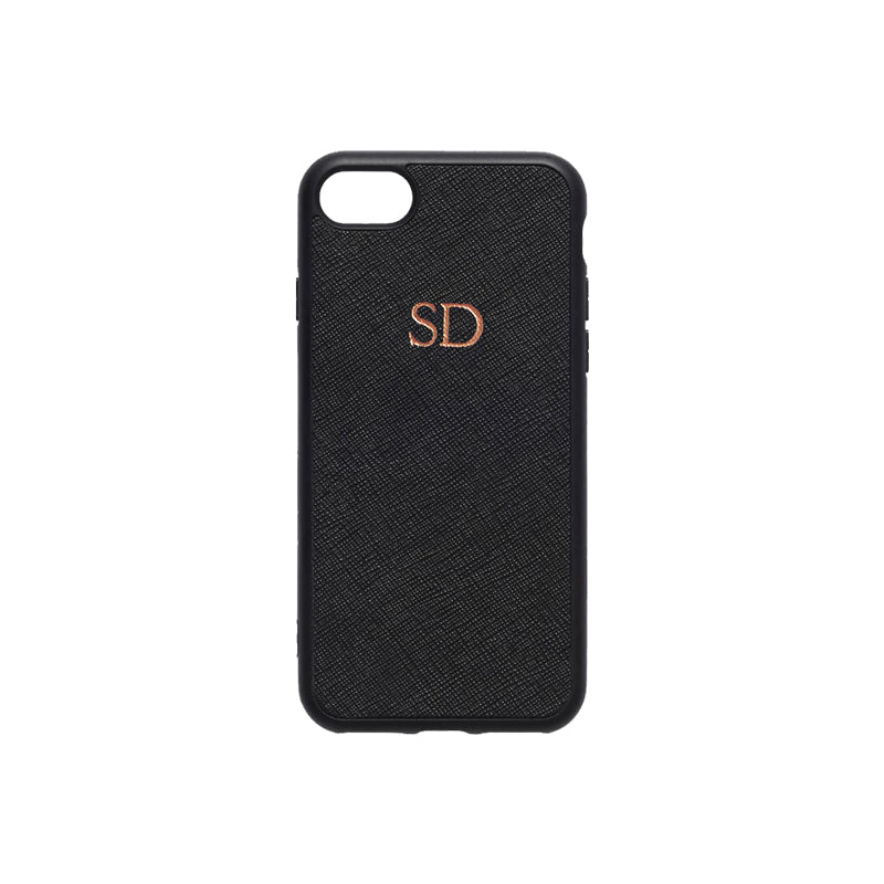 huge selection of 51386 e58be Personalised Monogram Leather Phone Cases | Olivia&Co.