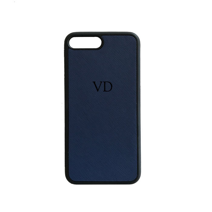 iPhone 7 Case in Navy Blue - OLIVIA&CO.