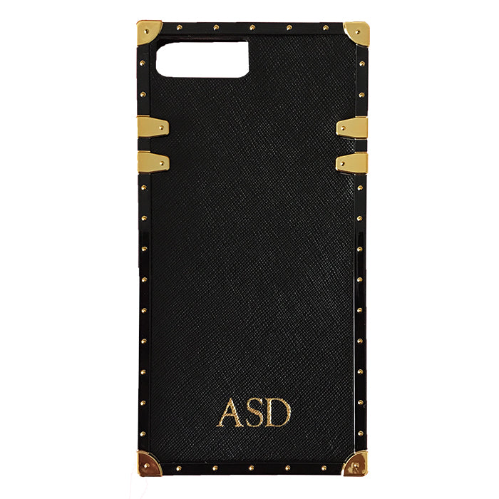 Studded Phone Case in Black iPhone 7/8 - OLIVIA&CO.