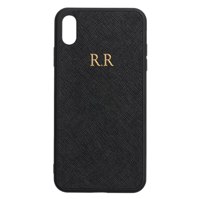 iPhone XS Max Phone Case in Black
