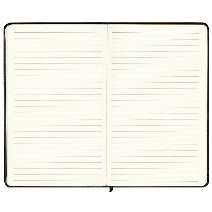 Notebook in Black Vegan Leather - OLIVIA&CO.