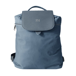 Mon Purse Nylon Finley Backpack in Navy (Silver)