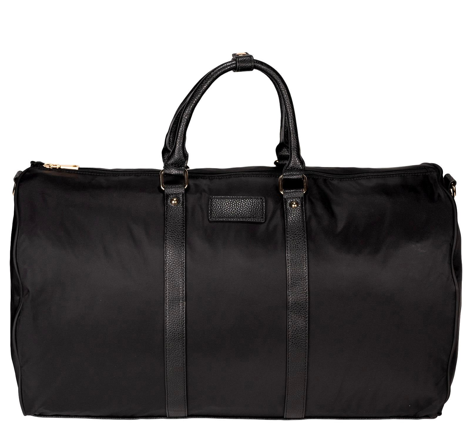 Mon Purse XL Nylon Brooklyn Duffle Bag in Black