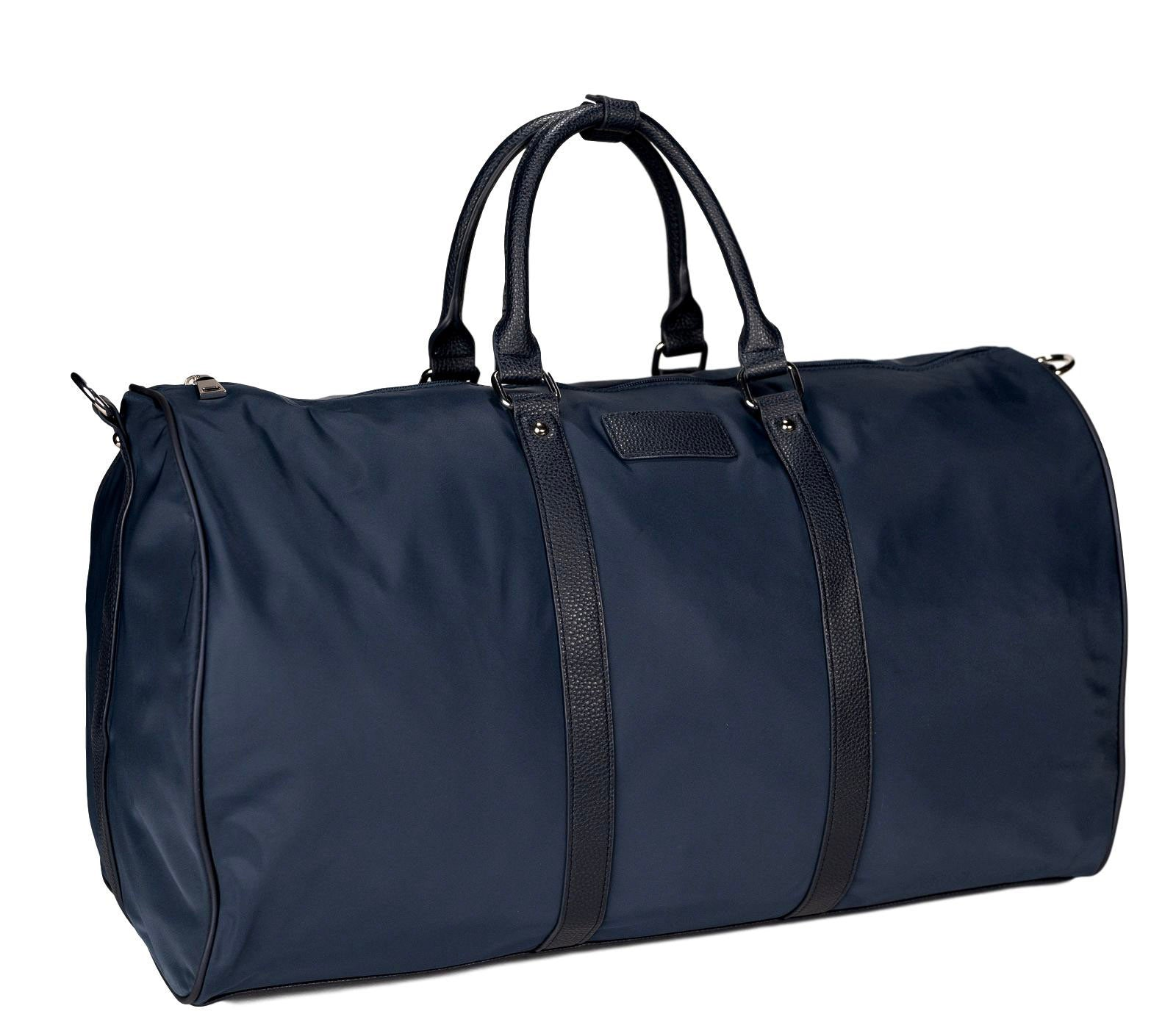 Mon Purse Nylon Brooklyn Duffle Bag in Navy