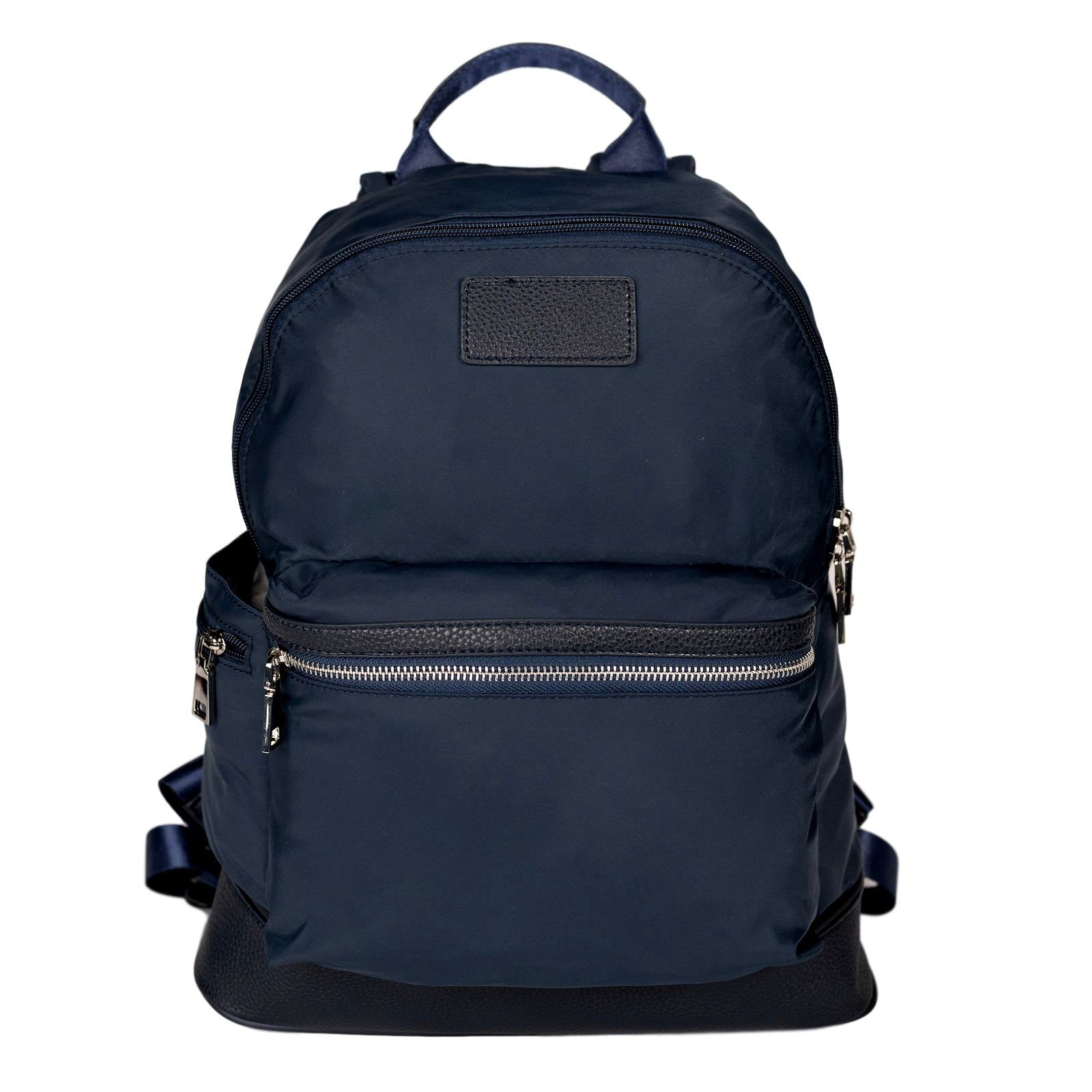 Mon Purse Nylon Bailey Backpack in Navy