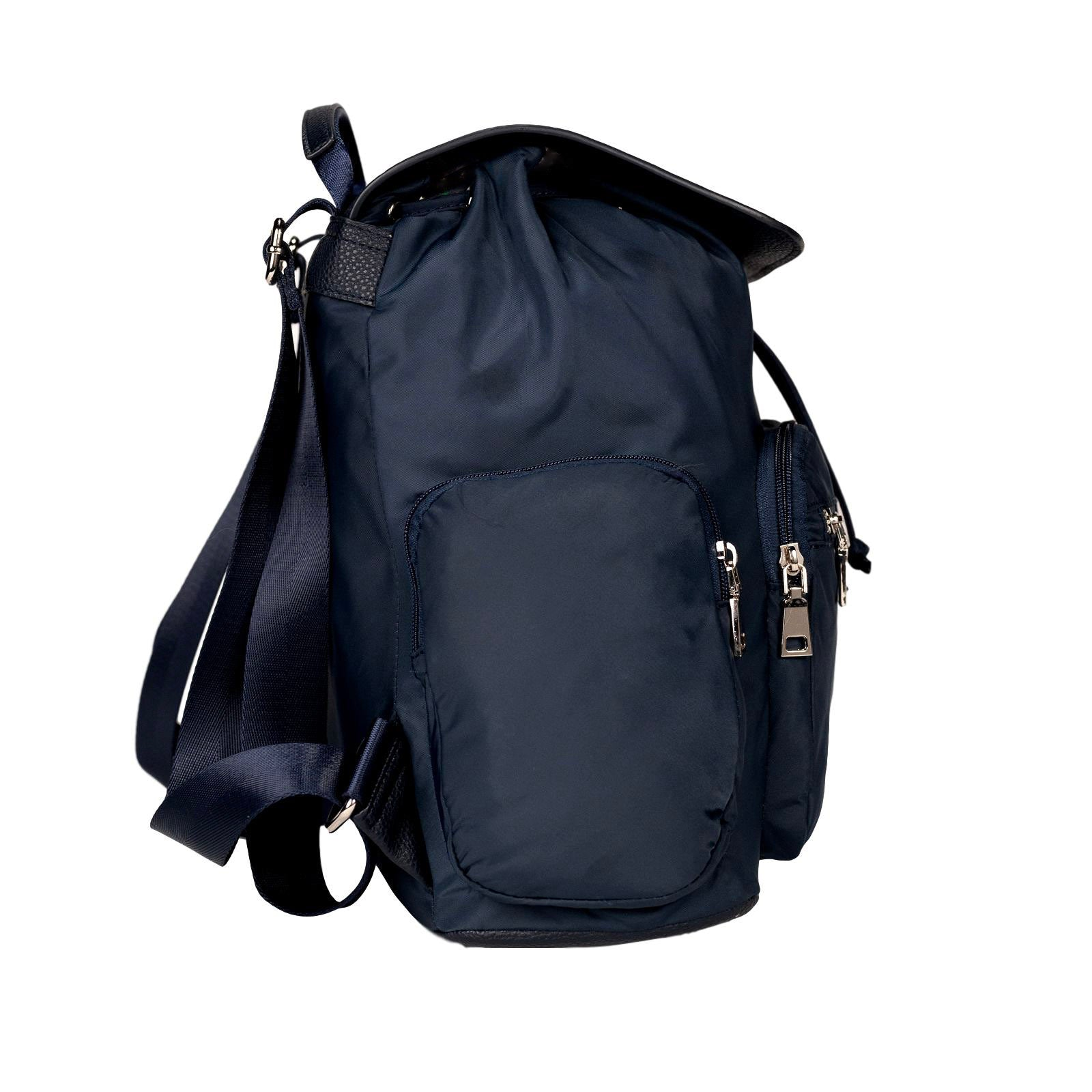 Mon Purse Nylon Hunter Rucksack in Navy