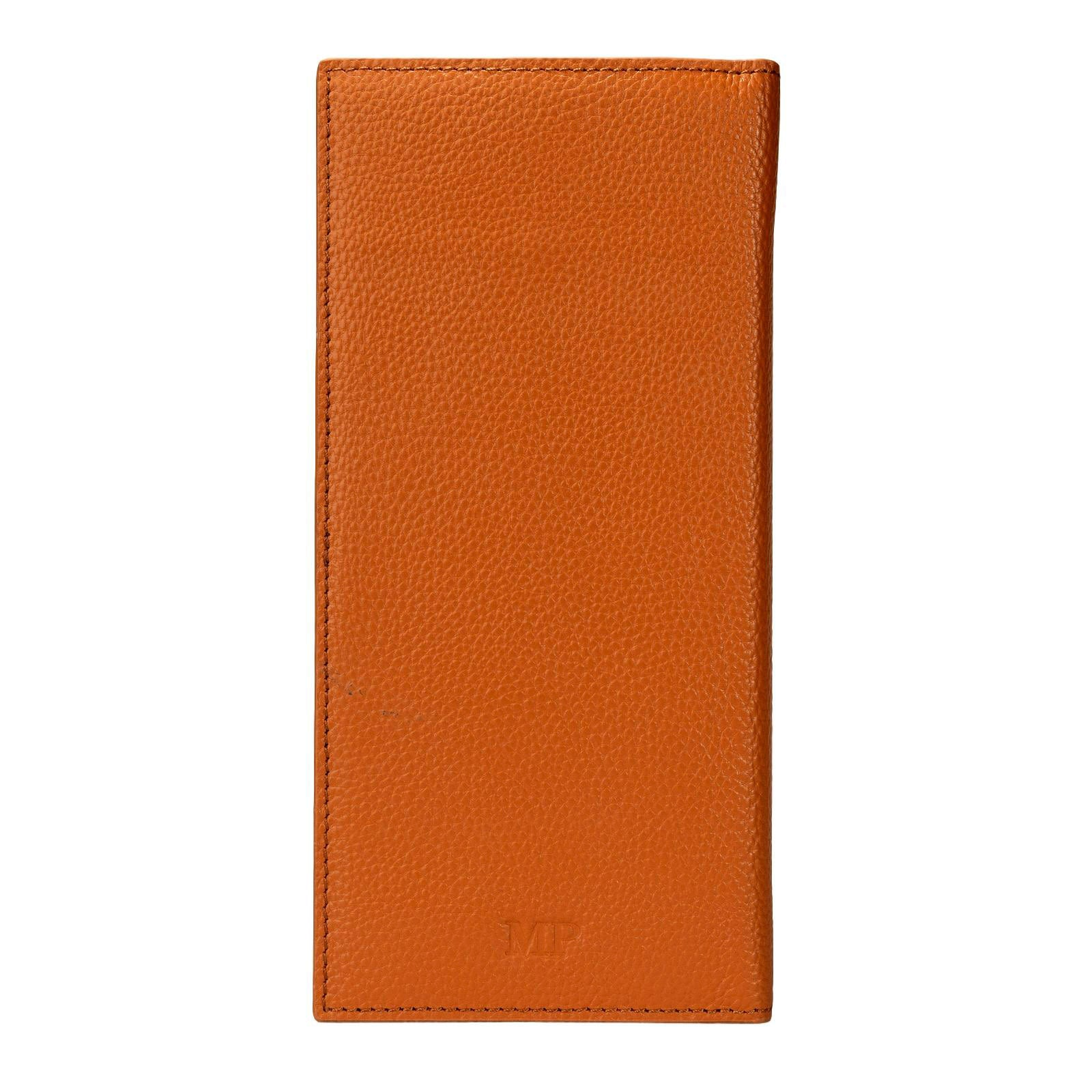 Mon Purse Pebbled Travel Wallet in Tan