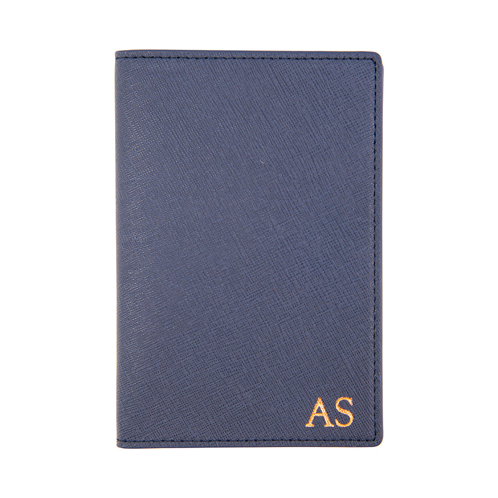 Outta Here Passport Holder in Navy
