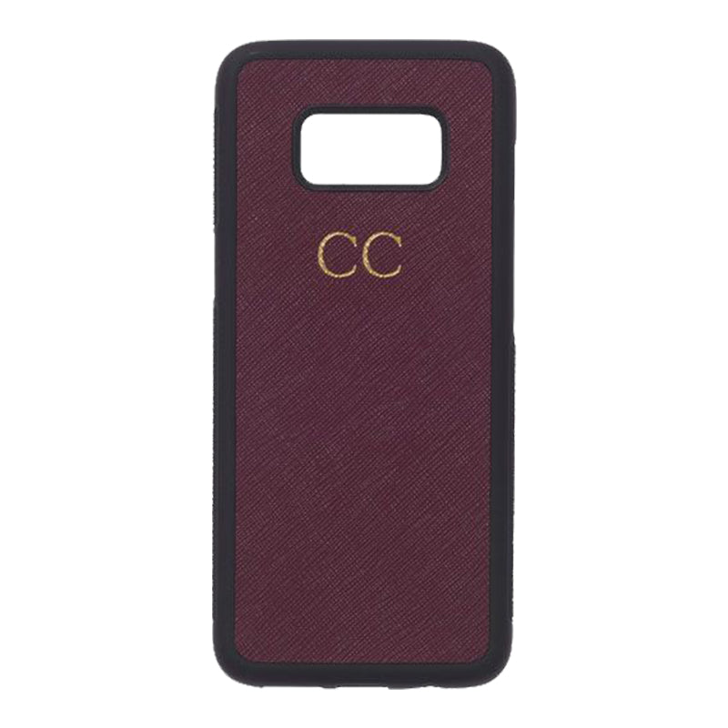 Samsung Galaxy S8 Phone Case in Red Wine
