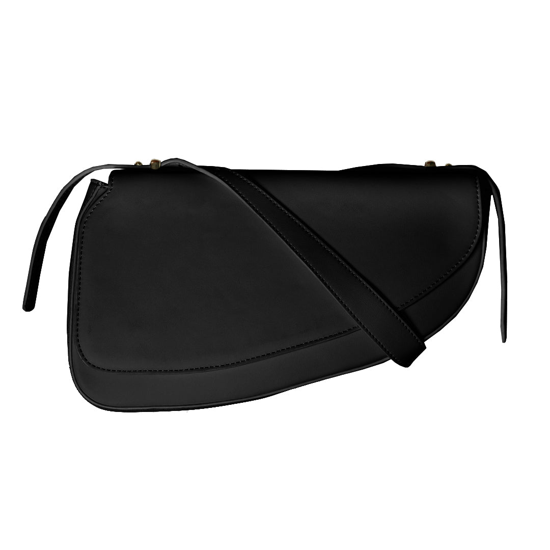 Hold Your Horses Saddle Bag in Black