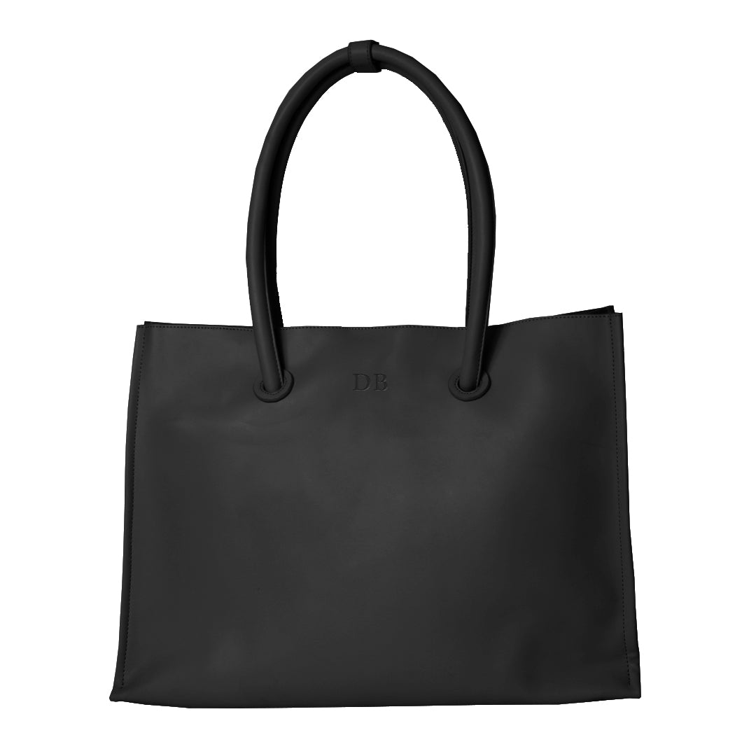 The Slouch Tote in Black