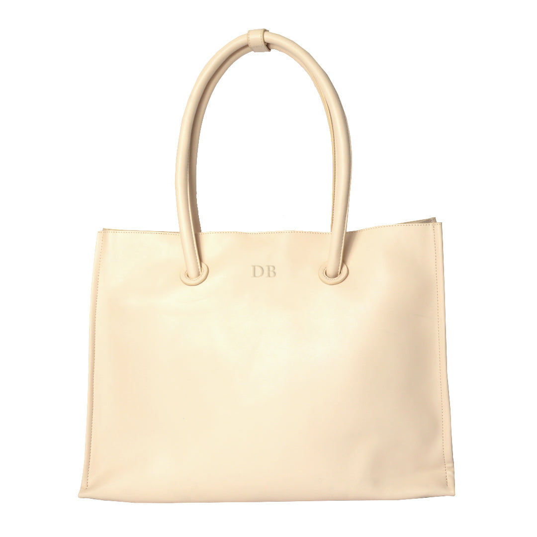 The Slouch Tote in Light Pink