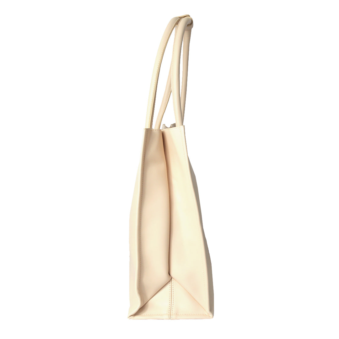 The Slouch Tote in Taupe