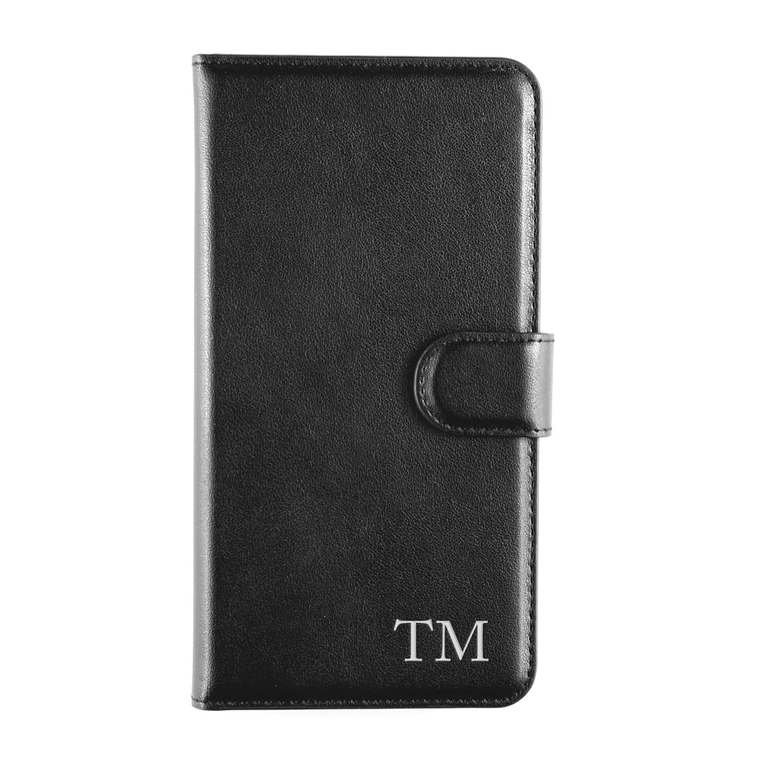 iPhone X/XS Case Set in Black Smooth Leather