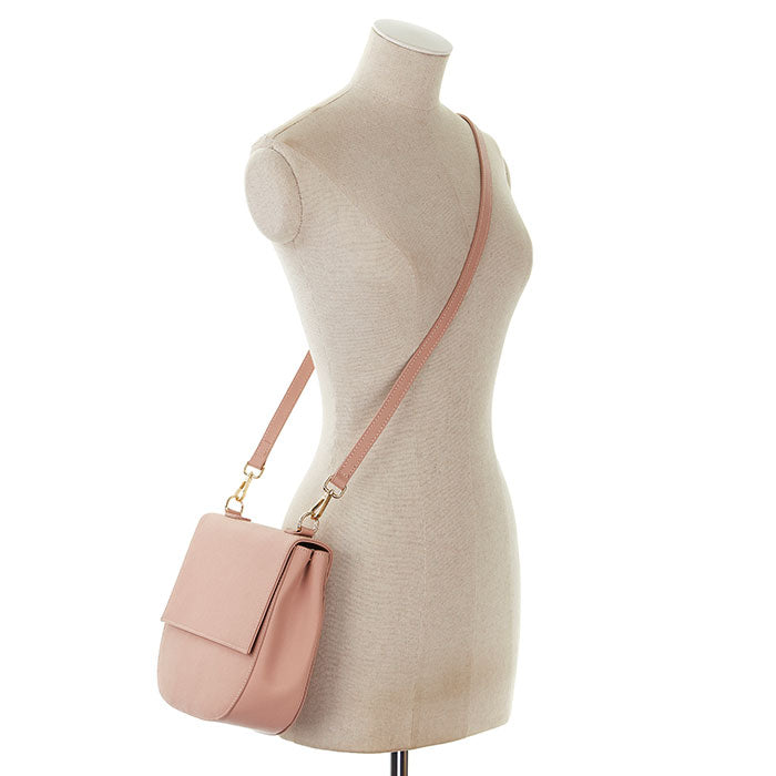 Crossbody Messenger Bag in Taupe - OLIVIA&CO.