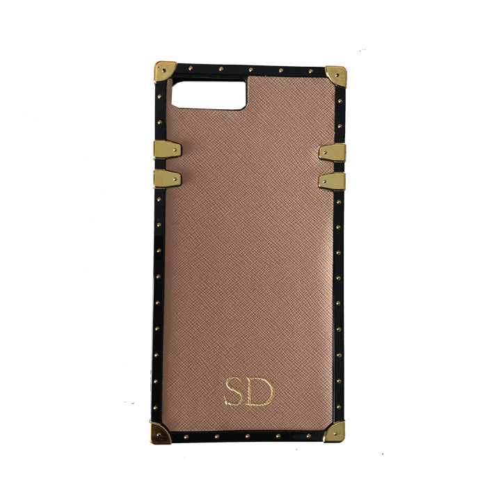 Studded Phone Case in Taupe iPhone 7/8 - OLIVIA&CO.