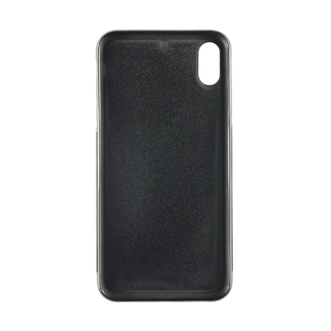 iPhone XR Phone Case in Stone Pebbled Leather