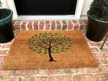 New Natural Coir Non Tree Floor Entrance Door Mat Indoor Outdoor + FREE Rubber Mat ($20 Value)