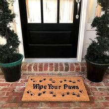 New Natural Coir Non Slip Wipe Your Paws Floor Entrance Doormat