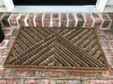 NEW 18 x 30 Wire Coir Door Mat  + FREE Rubber Mat ($20 Value)