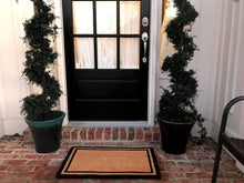New Natural Coir Non Elegant Floor Entrance Door Mat Indoor / Outdoor