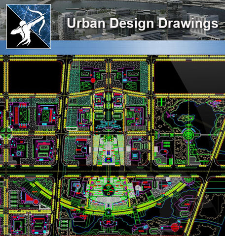 ★Urban Design CAD Drawings