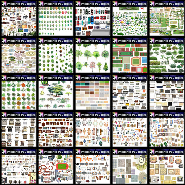 ★Over 20000+ Interior Design Photoshop PSD Blocks Bundle (Total 2.2GB PSD Files -Best Recommanded!!) - Architecture Autocad Blocks,CAD Details,CAD Drawings,3D Models,PSD,Vector,Sketchup Download