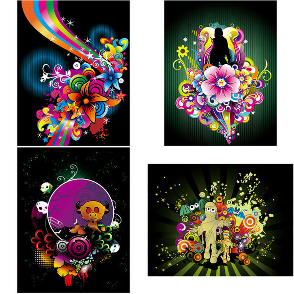 ★Free Abstract Elements V.11-Free Download Illustration AI Vector