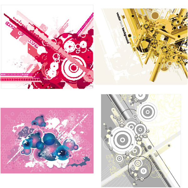 ★Free Abstract Elements V.1-Free Download Illustration AI Vector