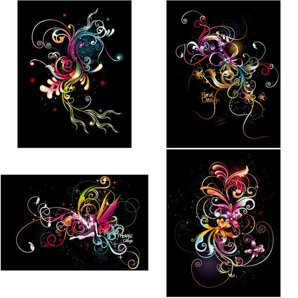 ★Free Abstract Elements V.16-Free Download Illustration AI Vector