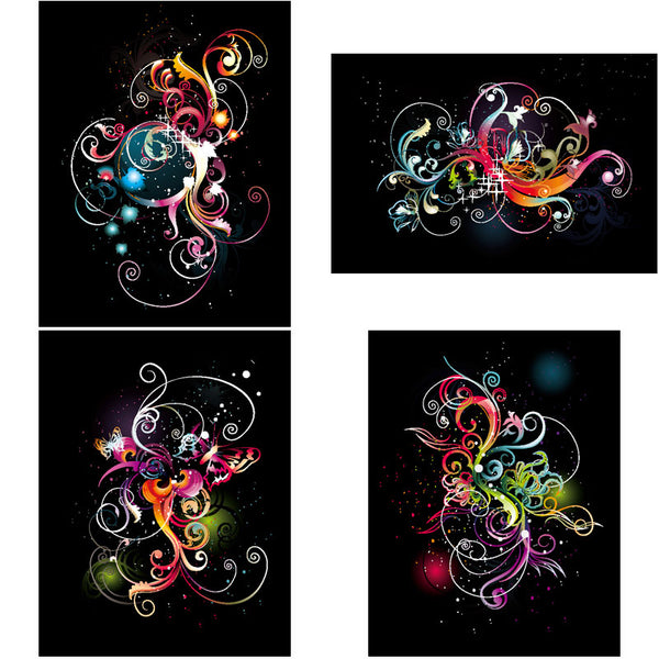 ★Free Abstract Elements V.17-Free Download Illustration AI Vector