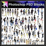 【Photoshop PSD Blocks】People PSD Blocks 1 - Architecture Autocad Blocks,CAD Details,CAD Drawings,3D Models,PSD,Vector,Sketchup Download