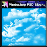 【Photoshop PSD Blocks】Landscape Sky PSD Blocks 2 - Architecture Autocad Blocks,CAD Details,CAD Drawings,3D Models,PSD,Vector,Sketchup Download