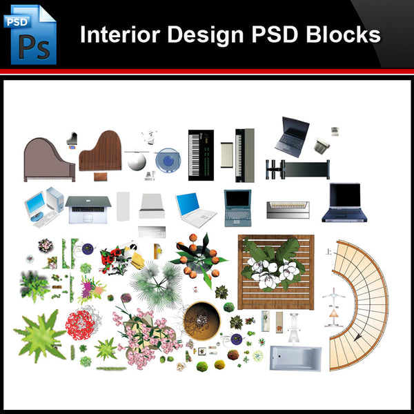 ★Photoshop PSD Blocks-Interior Design PSD Blocks-Electrical appliances PSD Blocks - Architecture Autocad Blocks,CAD Details,CAD Drawings,3D Models,PSD,Vector,Sketchup Download