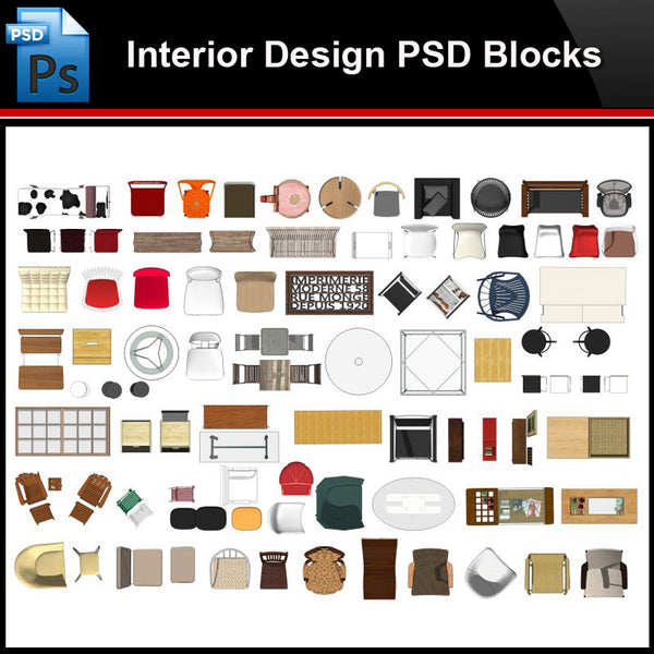 ★Photoshop PSD Blocks-Interior Design PSD Blocks -Stool PSD Blocks - Architecture Autocad Blocks,CAD Details,CAD Drawings,3D Models,PSD,Vector,Sketchup Download