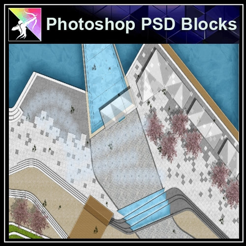 Photoshop PSD Landscape -Landscape presentation concept psd V.4 - Architecture Autocad Blocks,CAD Details,CAD Drawings,3D Models,PSD,Vector,Sketchup Download
