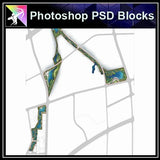 Photoshop PSD Landscape Layout Plan Blocks  V.6 - Architecture Autocad Blocks,CAD Details,CAD Drawings,3D Models,PSD,Vector,Sketchup Download