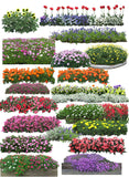 ★Photoshop PSD Blocks-Flowers PSD Blocks V.3