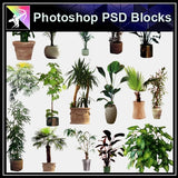 ★Photoshop PSD Blocks-Flowers PSD Blocks V.2 - Architecture Autocad Blocks,CAD Details,CAD Drawings,3D Models,PSD,Vector,Sketchup Download