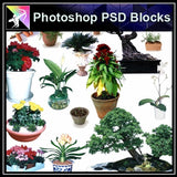★Photoshop PSD Blocks-Plant PSD Blocks - Architecture Autocad Blocks,CAD Details,CAD Drawings,3D Models,PSD,Vector,Sketchup Download