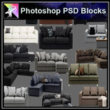 ★Photoshop PSD Blocks-Furniture PSD Blocks 2 - Architecture Autocad Blocks,CAD Details,CAD Drawings,3D Models,PSD,Vector,Sketchup Download