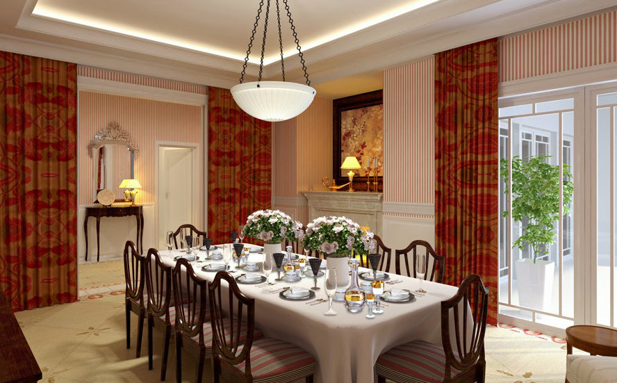 ★Download 3D Max Decoration Models -Dining Room
