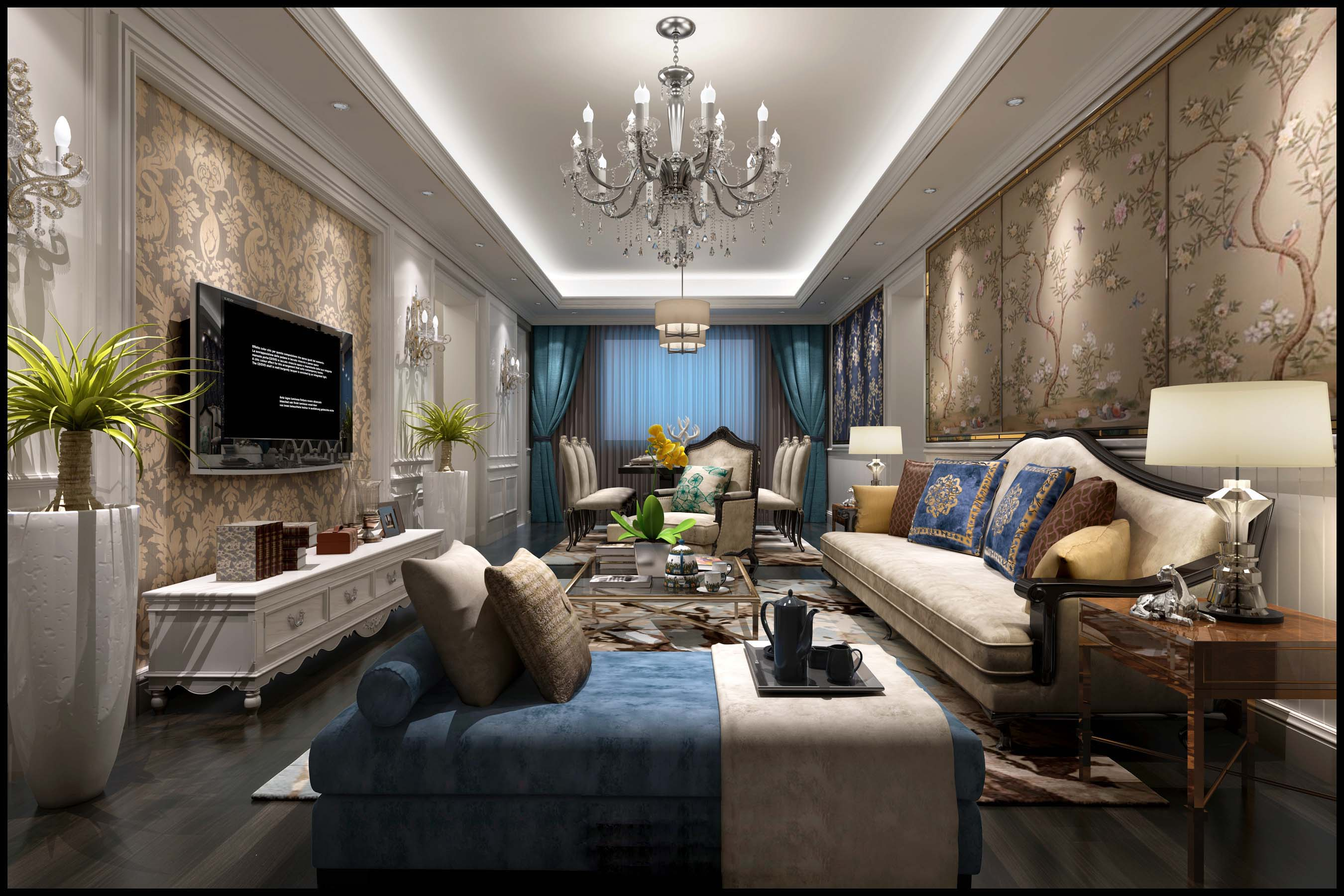 ★Download 3D Max Decoration Models -Living Room