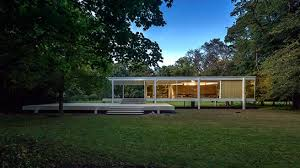 【Famous Architecture Project】Farnsworth house 3D Max model - ludwig mies van der rohe-Architectural 3D  model