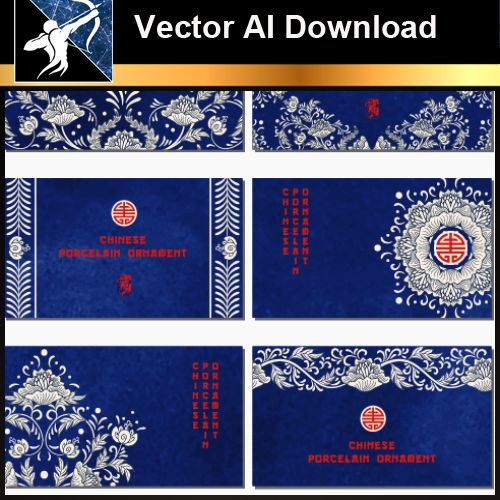 ★Vector Download AI-Chinese Design Elements V.12 - Architecture Autocad Blocks,CAD Details,CAD Drawings,3D Models,PSD,Vector,Sketchup Download