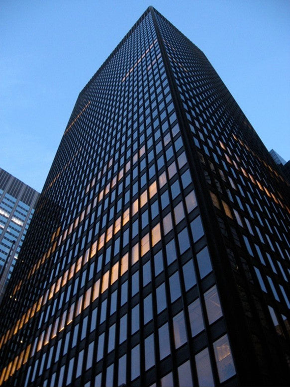 【Famous Architecture Project】Seagram Building-Mies van der Rohe-Architectural CAD Drawings