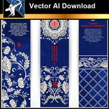 ★Vector Download AI-Chinese Design Elements V.10 - Architecture Autocad Blocks,CAD Details,CAD Drawings,3D Models,PSD,Vector,Sketchup Download