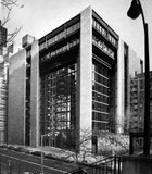 【World Famous Architecture CAD Drawings】The Ford Foundation-Kevin Roche John Dinkeloo and Associates