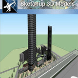 ★★Sketchup 3D Models--Big Scale Business Architecture Sketchup Models 11 - Architecture Autocad Blocks,CAD Details,CAD Drawings,3D Models,PSD,Vector,Sketchup Download